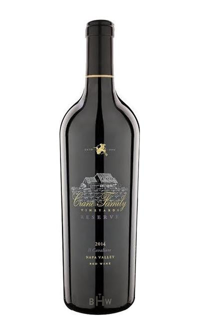 "Winery Direct Red 2014 Crane Family Vineyards Reserve ""Cavaliere"" Napa Valley Red Blend"