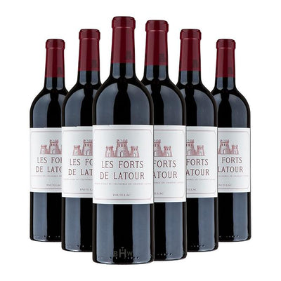 Big Hammer Wines 2014 Les Forts de Latour Pauillac 1st Classified Growth 6pk