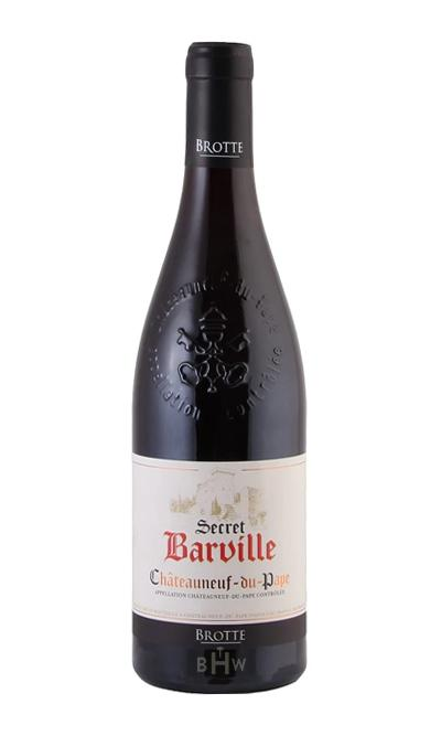 vitis Red 2015 Brotte Secret de Barville Chateauneuf du Pape
