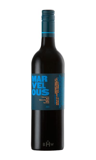2015 Marvelous Blue Red Blend South Africa - bighammerwines.com