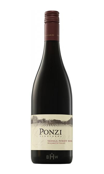 Youngs Red 2017 Ponzi Vineyards Tavola Pinot Noir Willamette Valley