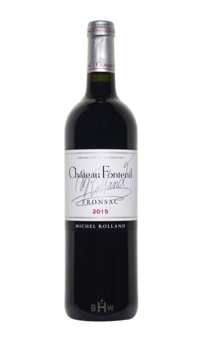 MHW Red 2015 Chateau Fontenil Fronsac