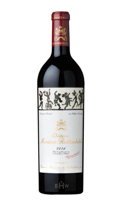 2016 Château Mouton Rothschild Pauillac 1st Classified Growth - bighammerwines.com