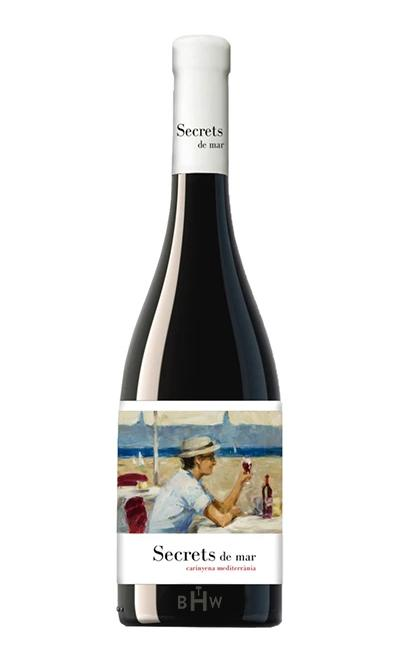 2016 Secrets del Mar Spanish Red Blend Terra Alta - bighammerwines.com
