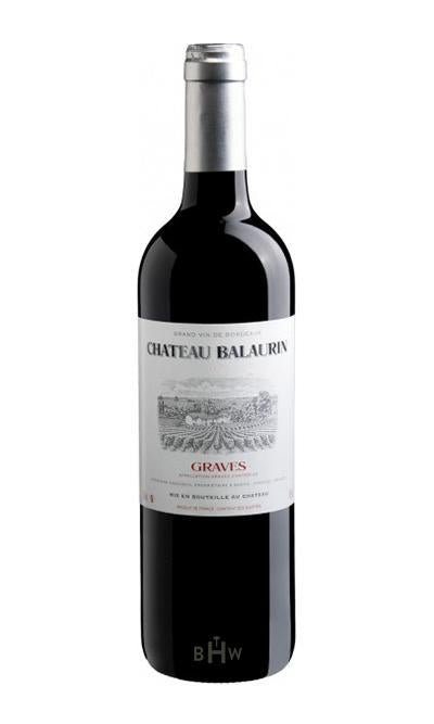 MHW Red 2016 Chateau Balaurin Graves Rouge