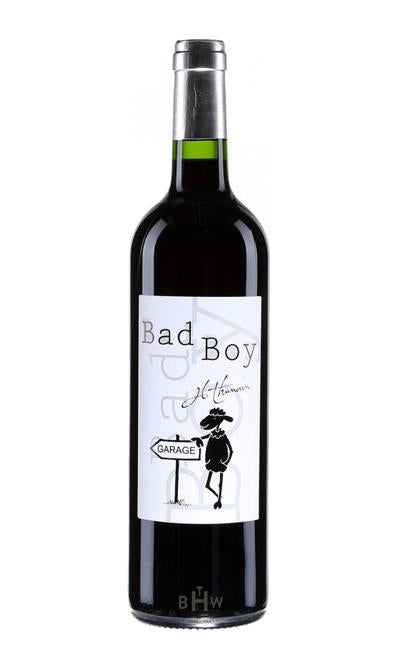 MHW Red 2016 Jean-Luc Thunevin Bad Boy 'Mauvais Garcon' Bordeaux Rouge
