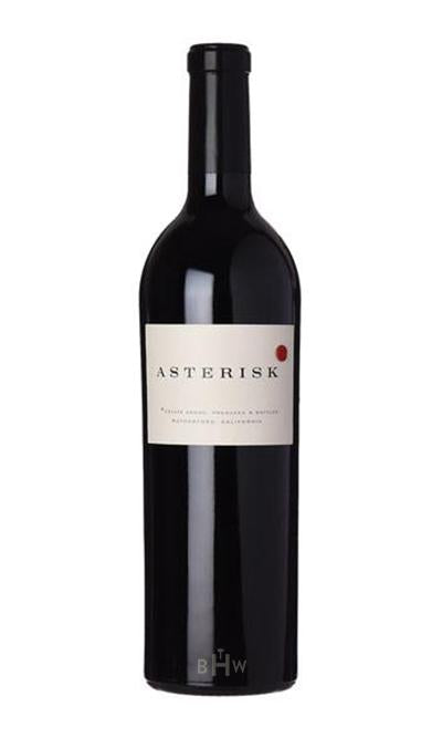 Winery Direct Red 2016 SLOAN ASTERISK Estate Proprietary Red Napa Valley