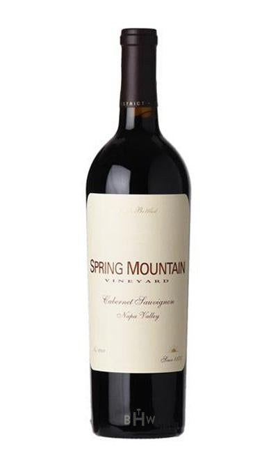 Winery Direct Red 2016 Spring Mountain Vineyard Cabernet Sauvignon Napa