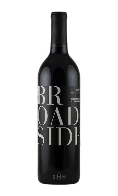 bighammerwines.com Red 2017 Broadside Merlot Margarita Vineyard