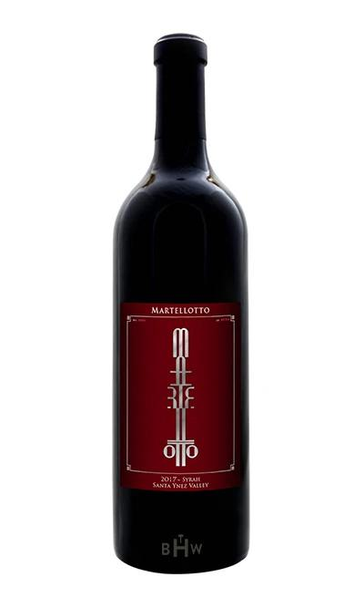 Martellotto Red 2017 Martellotto Syrah Santa Ynez Valley