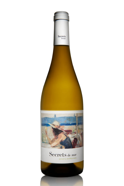 2017 Secrets del Mar Spanish White Blend DO Terra Alta - bighammerwines.com