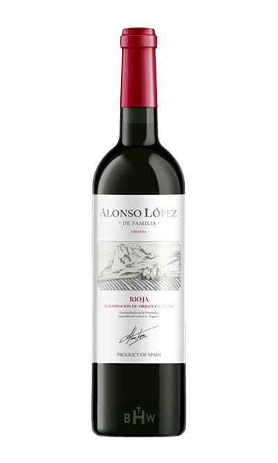 Big Hammer Wines 2017 Alonso Lopez Crianza Rioja
