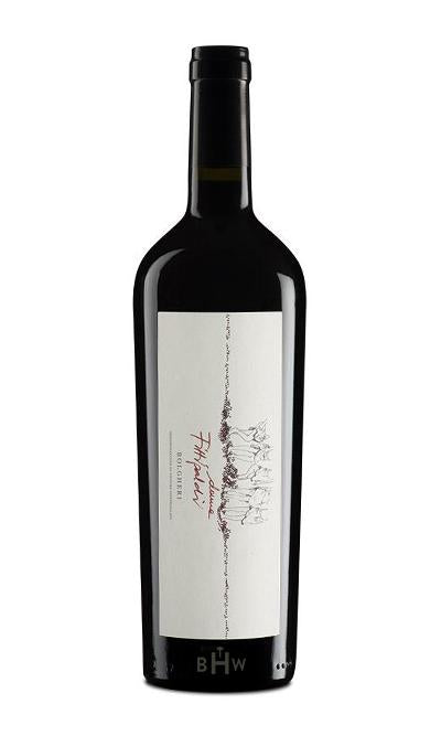 Direct Import Red 2018 Donne Fittipaldi Bolgheri Rosso