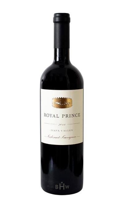 Chambers Red 2018 Royal Prince Cabernet Sauvignon Napa Valley