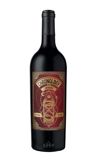 KJS Red 2018 Secret Indulgence Chronology California Red Blend