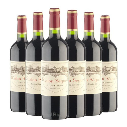 Misa Bordeaux 2019 Chateau Calon Segur St. Estephe 3rd Classified Growth FUTURES 6pk