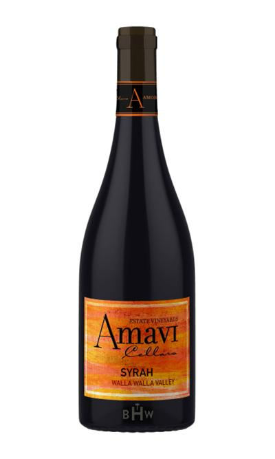 SWS Red 2015 Amavi Cellars Syrah