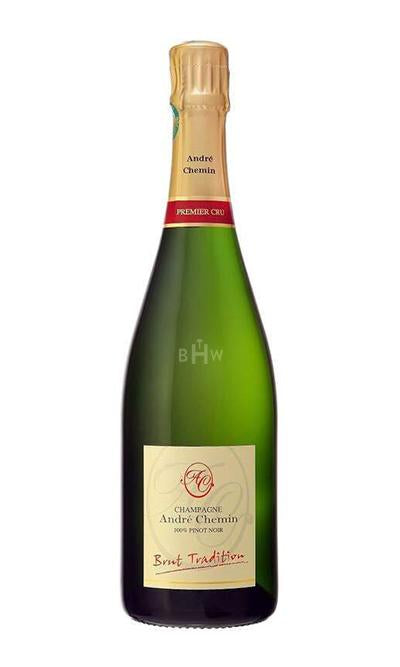 MHW Champagne - Espumoso André Chemin Brut Tradition Blanc de Noirs Champagne NV