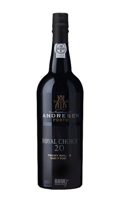 Andresen Tawny Port 20 years (gold tin) - bighammerwines.com
