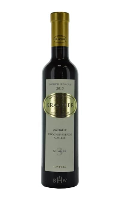 bighammerwines.com 2015 Kracher Dry Berry Selection #3 Zweigelt Nouvelle Vague Austria 375ml