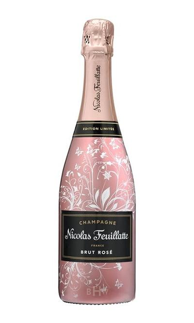 "SWS Champagne Nicolas Feuillatte ""Enchanted Vine"" Brut Rose NV"