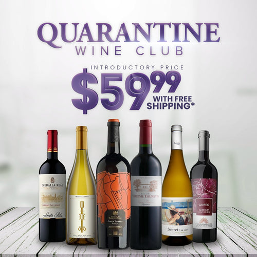 bighammerwines.com Red Limited Time Quarantine Wine Club: Six Bottles