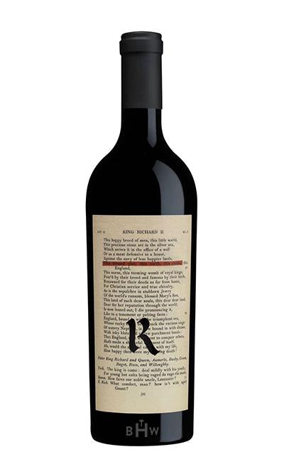 KJS Red 2018 Realm Cellars The Bard Proprietary Blend