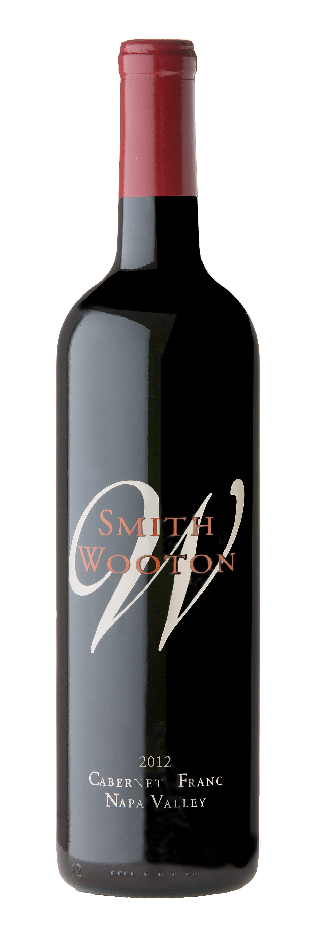 2012 Smith Wooton Cabernet Franc Napa Valley