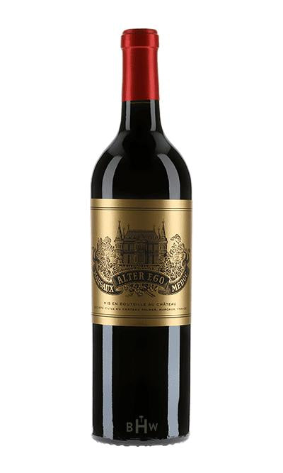 bighammerwines.com Red 2015 Chateau Palmer Alter Ego Margaux 375ml