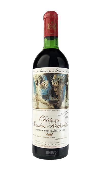 Bordeaux - 1973 Chateau Mouton Rothschild MS