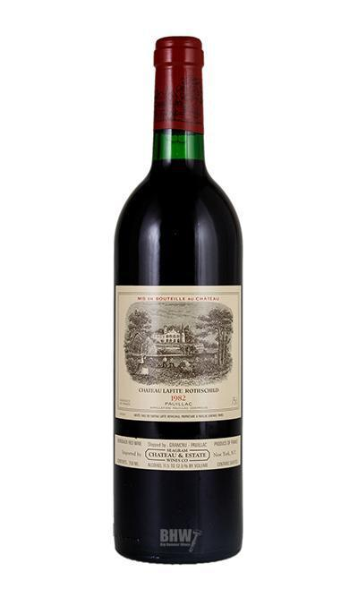 bighammerwines.com Red 1982 Chateau Lafite Rothschild [TS, Torn, Distressed label]