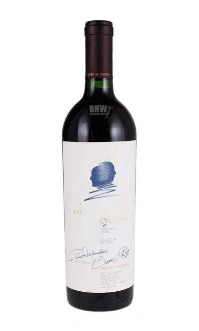 bighammerwines.com Red 1990 Opus One 90WA