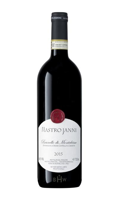 Epic Red 2015 Mastrojanni Brunello di Montalcino