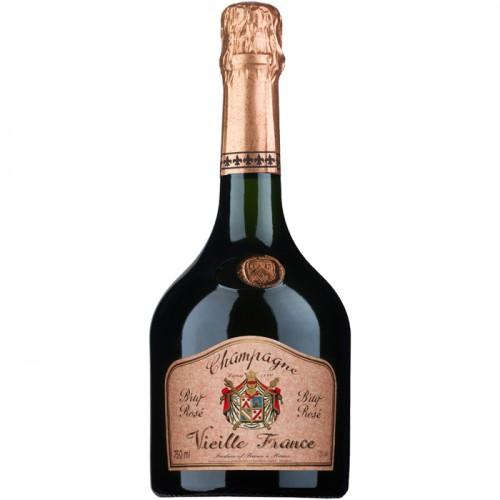 Champagne Vieille France Rosé by Charles de Cazanove - bighammerwines.com