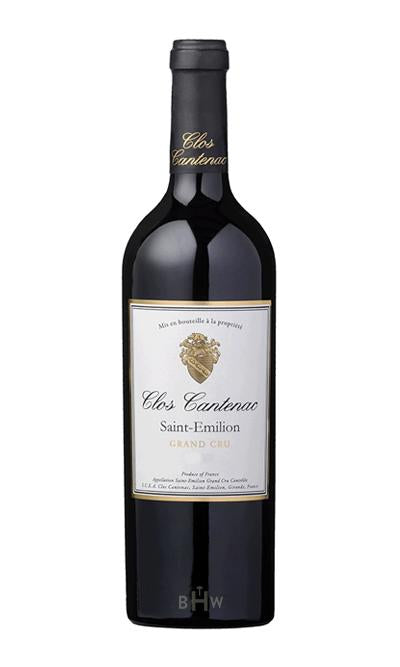 Big Hammer Wines 2015 Clos Cantenac Saint-Emilion Grand Cru