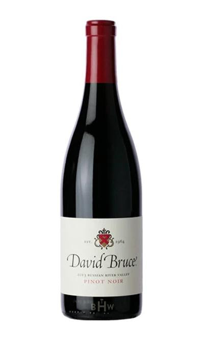 SWS Red 2017 David Bruce Pinot Noir Sonoma County