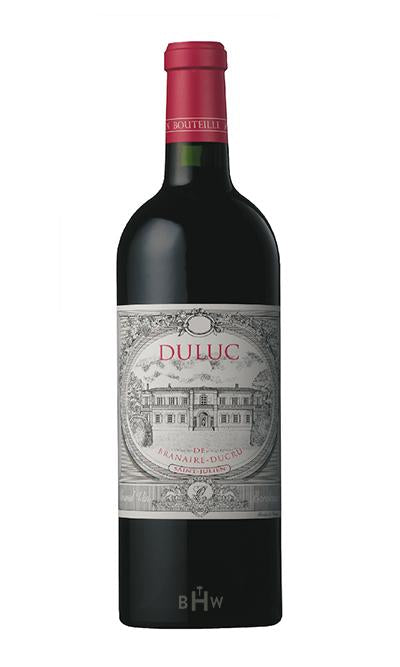 Big Hammer Wines 2012 Duluc de Branaire-Ducru Saint-Julien 375ml