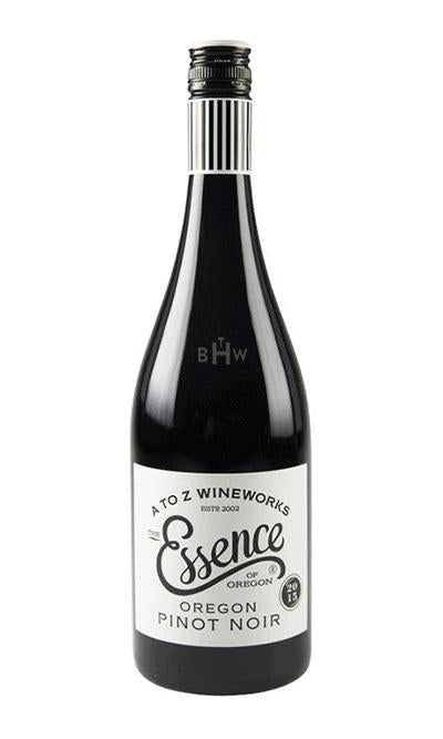 bighammerwines.com Red 2015 A to Z Essence Pinot Noir Willamette Valley