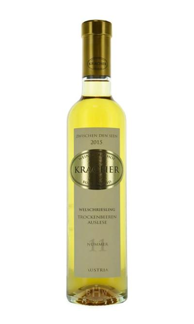 bighammerwines.com 2015 Kracher Dry Berry Selection #11 Welschriesling Between the Lakes Austria 375ml