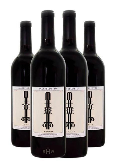 Big Hammer Wines 2018 Martellotto La Bomba Happy Canyon of Santa Barbara Cabernet Sauvignon 4pk