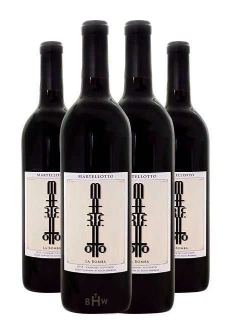 Martellotto Red 2018 Martellotto La Bomba Happy Canyon of Santa Barbara Cabernet Sauvignon 4pk