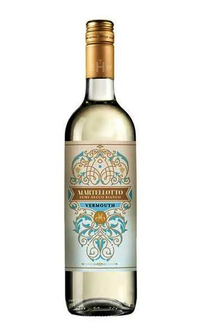 bighammerwines.com White NV Martellotto Semi-Secco Bianco Vermouth 750ml