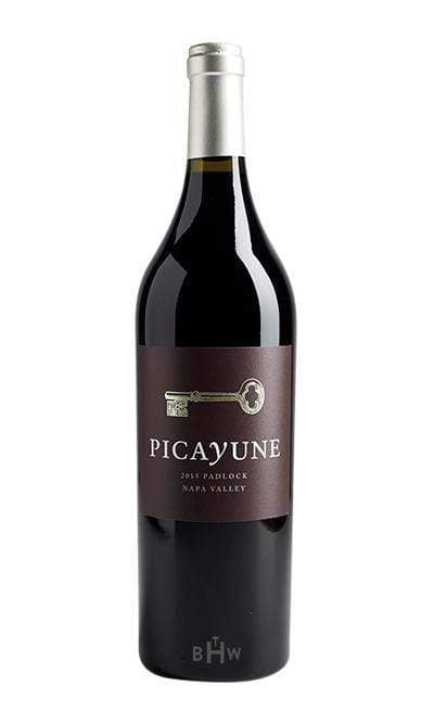 bighammerwines.com Red 2015 Picayune Cellars Padlock Napa Valley California