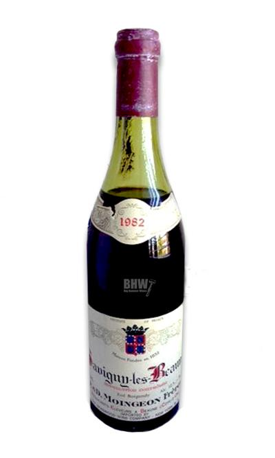 bighammerwines.com Red 1982 E&D Moingeon Freres Savigny-les-Beaune, TS