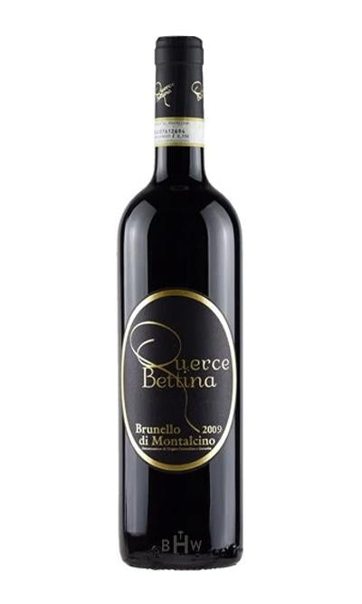 bighammerwines.com Red 2009 Querce Bettina Brunello di Montalcino