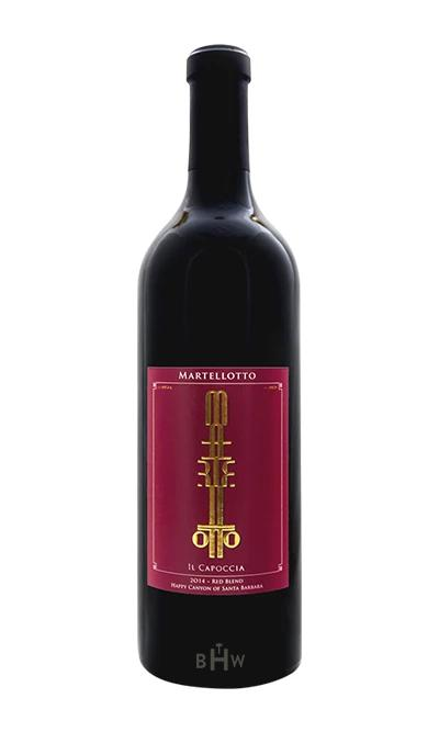 "bighammerwines.com Red 2014 Martellotto ""Il Capoccia"" Reserve Happy Canyon of Santa Barbara Red Blend"
