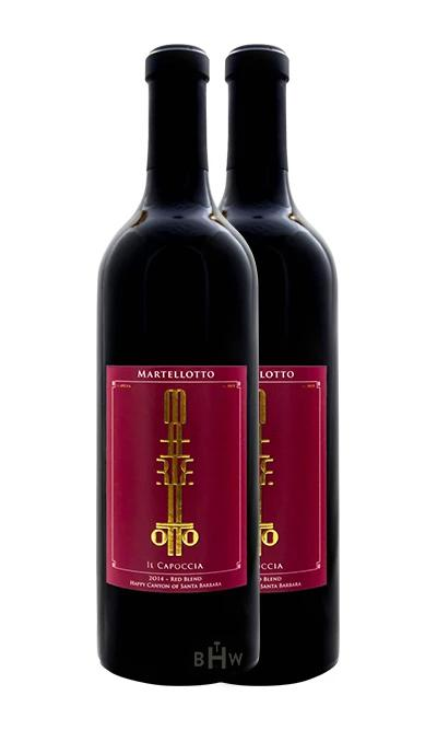"2016 Martellotto ""Il Capoccia"" Reserve DUO Happy Canyon of Santa Barbara Red Blend - bighammerwines.com"