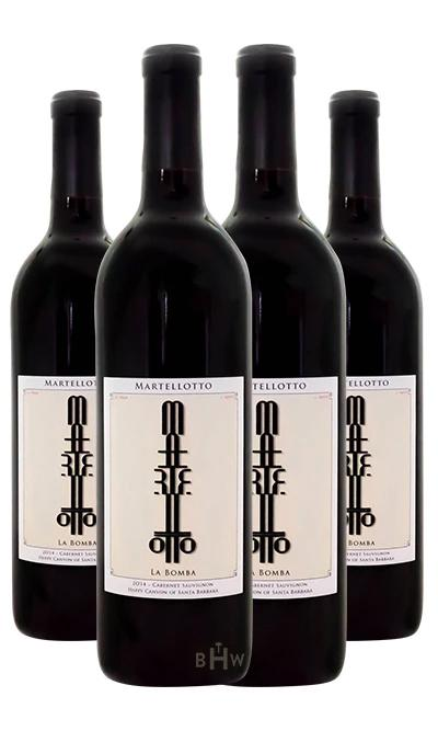 Martellotto Red 92pt 2016 Martellotto La Bomba Happy Canyon of Santa Barbara Cabernet Sauvignon 4pk