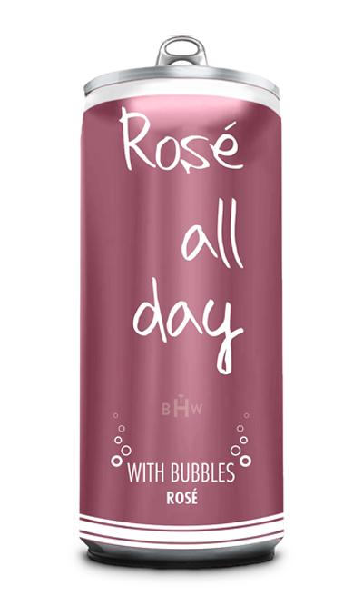Rosé All Day with Bubbles Case/24 cans in 250ml Cans - bighammerwines.com