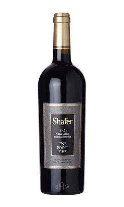 2017 Shafer One Point Five Cabernet Sauvignon (Stags Leap District) Napa - bighammerwines.com